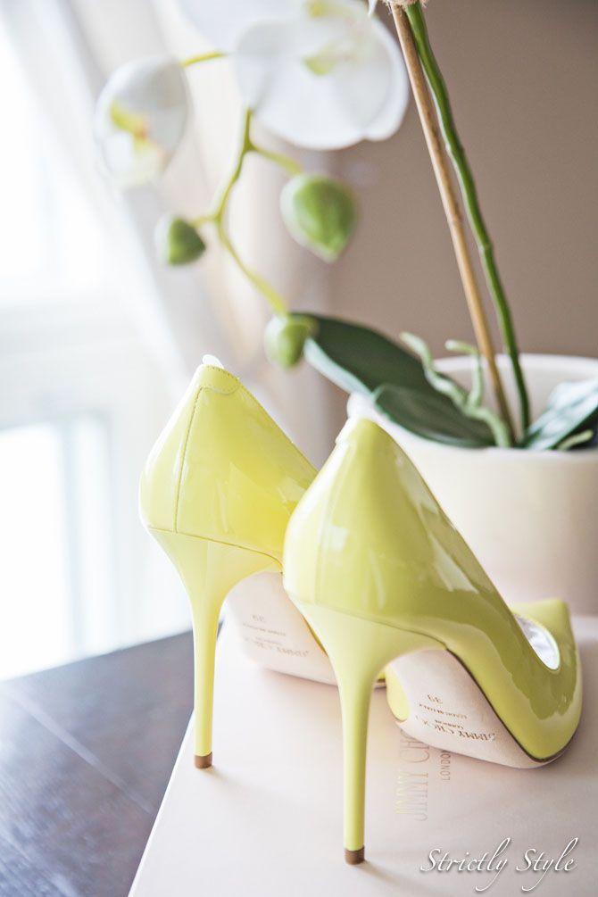 Lemon pumps Jimmy Choo heels