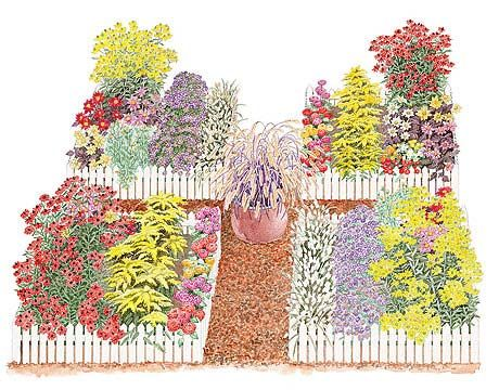 Plant a flower bed area just for cut flowers.