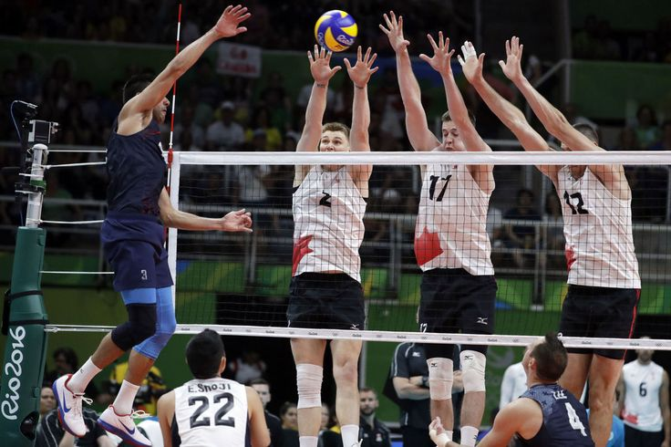 Rio Olympics Volleyball Men REAKING EDITOR'S PICK Former BYU player Taylor Sander, USA men's volleyball falls to Italy