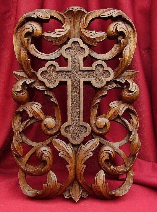 Deep Relief Carving » Gallery of Crosses