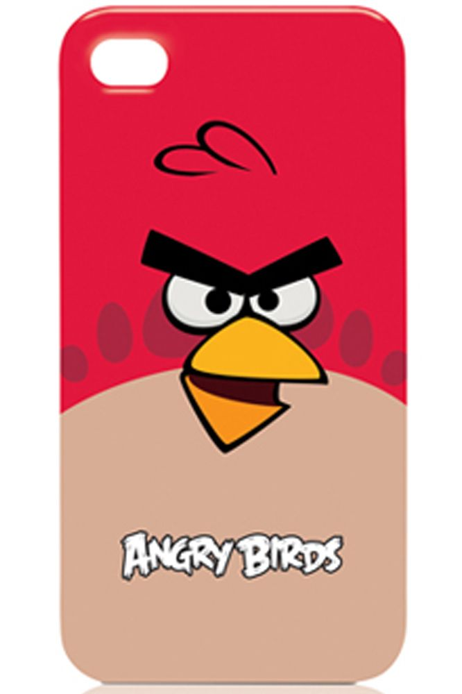 OFFICIAL ANGRY BIRDS CASE-RED BIRD !!