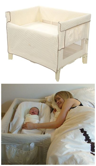 CO-SLEEPER® bassinet. Love this for in the beginning... Especially if I breast feed