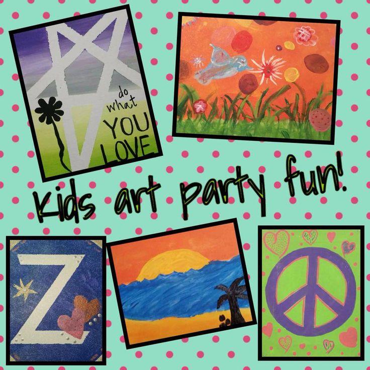 9 Best Art Parties! Fun In Your Comfort Zone! Images On