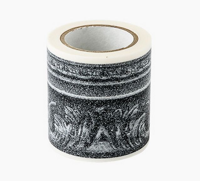Decolfa Interior Masking Tape 1.9 Inch Frame Silver M3603 For Decorate Home Art