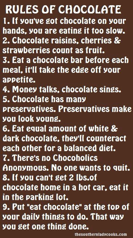 chocolate funny quotes and sayings quotesgram