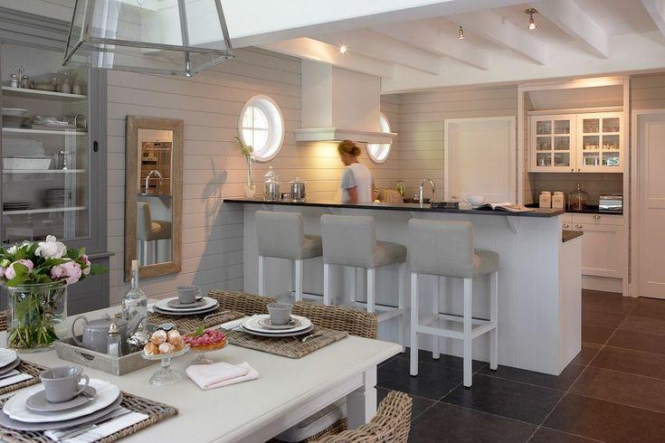 17 best images about cuisine on pinterest plan de travail navi mumbai and islands - Idee outs semi open keuken ...