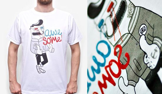 desain kaos t shirt keren 03 15 contoh kaos dengan desain ilustrasi keren pinterest
