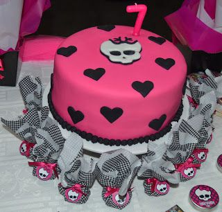 Monster High: Bolos de Festa Monster High