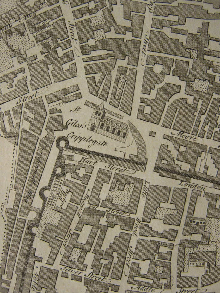 CRIPPLEGATE WARD 200 best Maps and Mappings