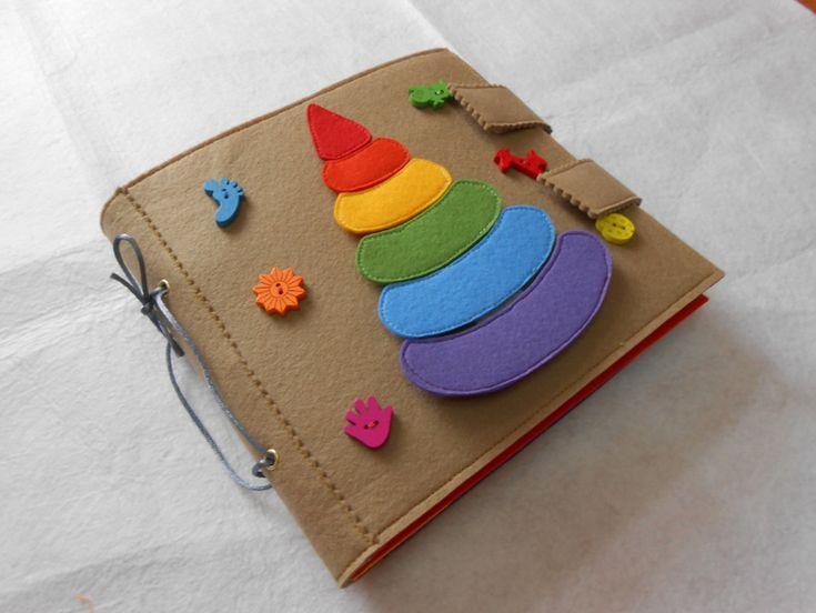 """Развивающая книжка """"Веселая радуга"""""""
