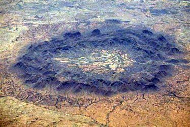 Gosses Bluff crater, Australia