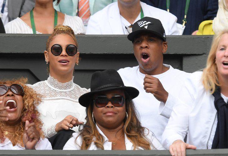 Star News | Beyoncé und Jay Z hatten den größten Spaß in Wimbledon | POPSUGAR Deutschland Stars Photo 2