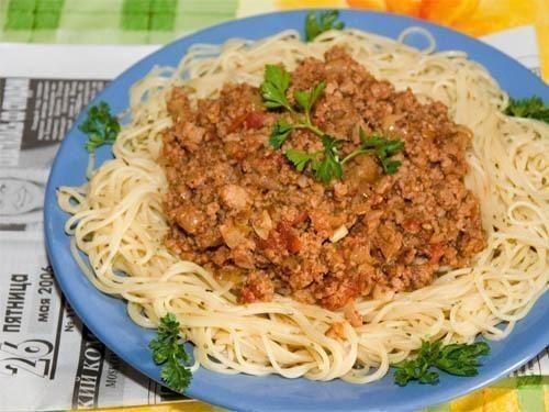 Мясной соус к спагетти / Моё счастье