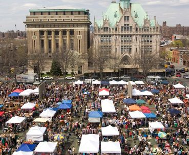 Hit up local markets, like Brooklyn Flea in New York and the Eastern Market in Washington DC for handmade clothing, accessories, jewelry, and more. Just make sure they are still up and running during winter months, however.