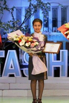 Dilnoza Turopova, Best Woman Entrepreneur of the Year in Uzbekistan