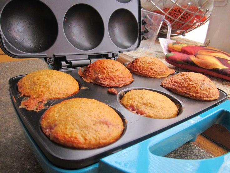 Zona de Té: Muffins saludables de Fresa y avena - SIN Gluten