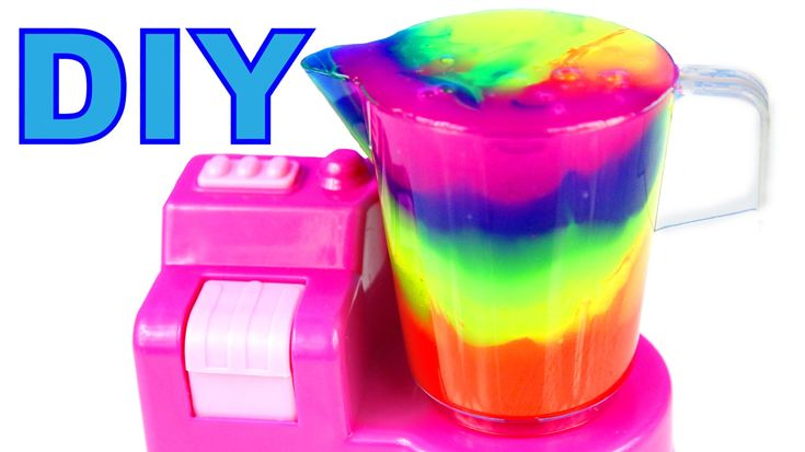 DIY How To Make Slime Clay Cocktail Mighty Toys Blender Compilation