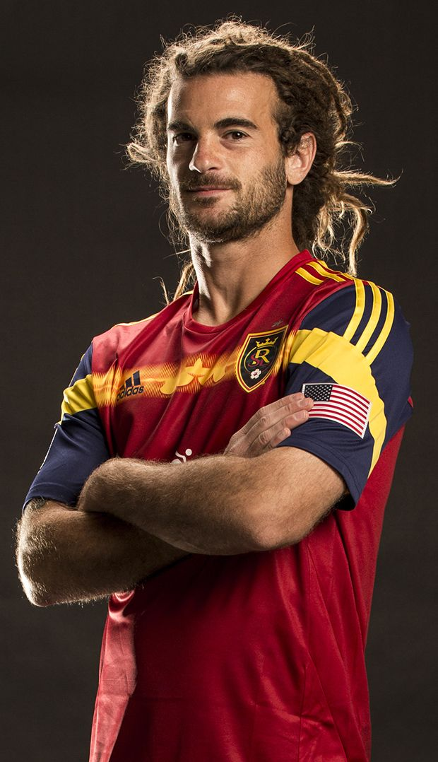 Kyle Beckerman #5 Midfielder..the only man alive with dreads that I find attractive! :)