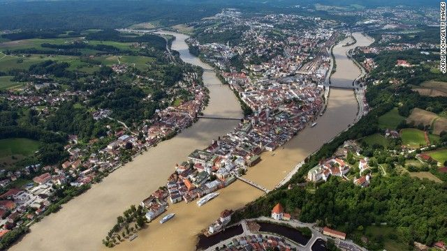 Swollen rivers bring more flooding in central Europe