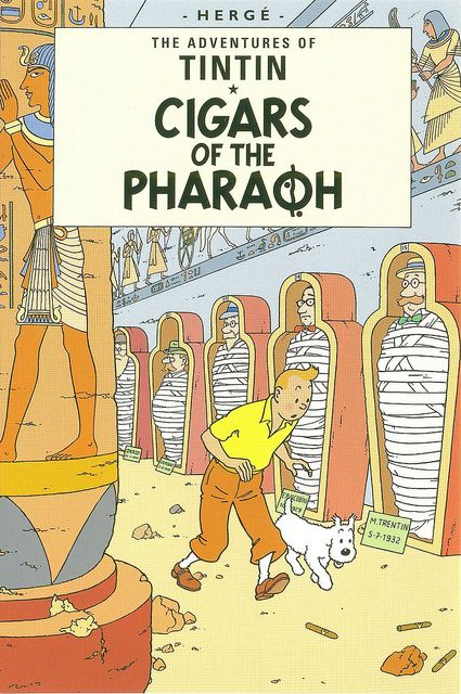 'The Adventures of Tintin: Cigars of the Pharaon' by Hergé