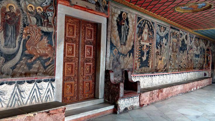 Refectory - Dionysiou Monastery, Agion Oros