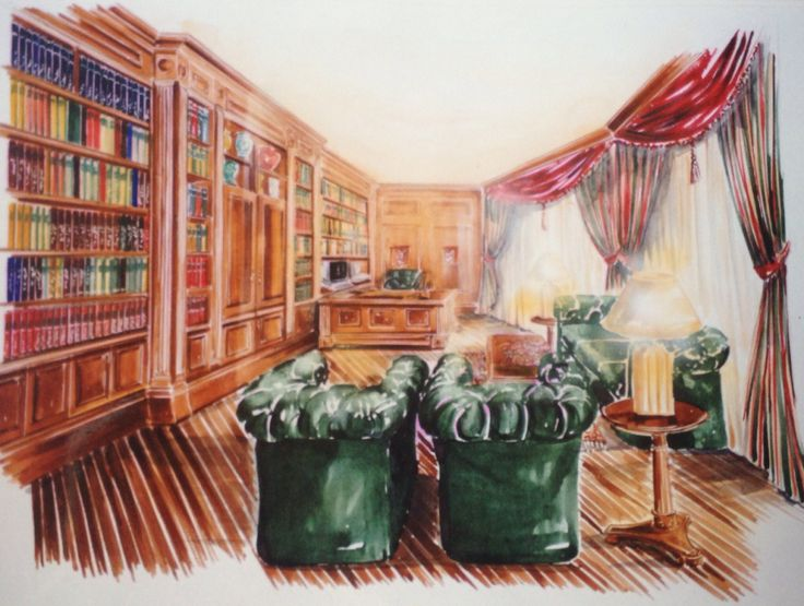 Water Color Hand Drawing Amp Rendering By Aida Safar