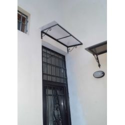 Shelter Canopy Stainless Steel. Wrought Iron. Customize Realizations. 369