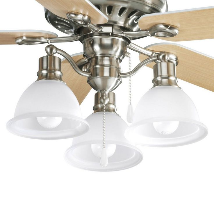 CanadaLightingExperts | Madison - Three Light Ceiling Fan Kit - add to ceiling fan  - on sale $120