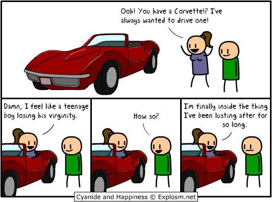 CorvetteHumor, Cyanide Happy