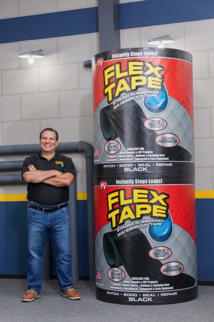 Phil Swift with FLEX TAPE™!