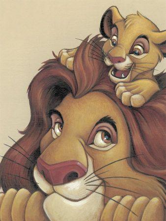 -Lion king simba and mufasa