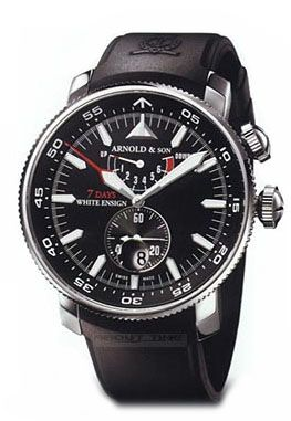 Arnold & Son White Ensign 7 Days 1WEBS.B01A.K01B - швейцарские мужские часы наручные, черные