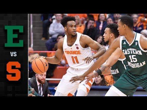 Eastern Michigan vs. Syracuse Basketball Highlights (2017-18) - YouTube