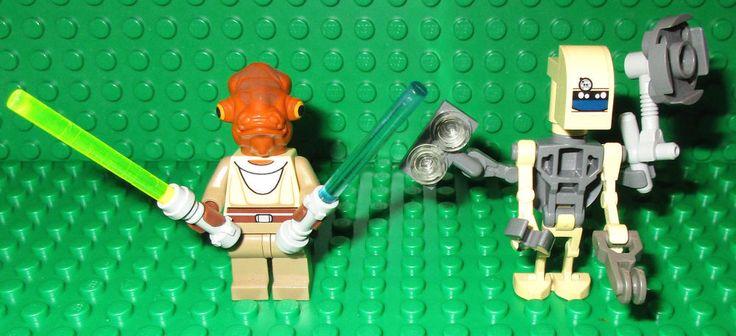 > > > $19.50 < < < #ebay #starwars #minifigures LEGO SET 8095 Nahdar Vebb EV A4 D Minifigure General Grievous Starfighter 30299  #lego