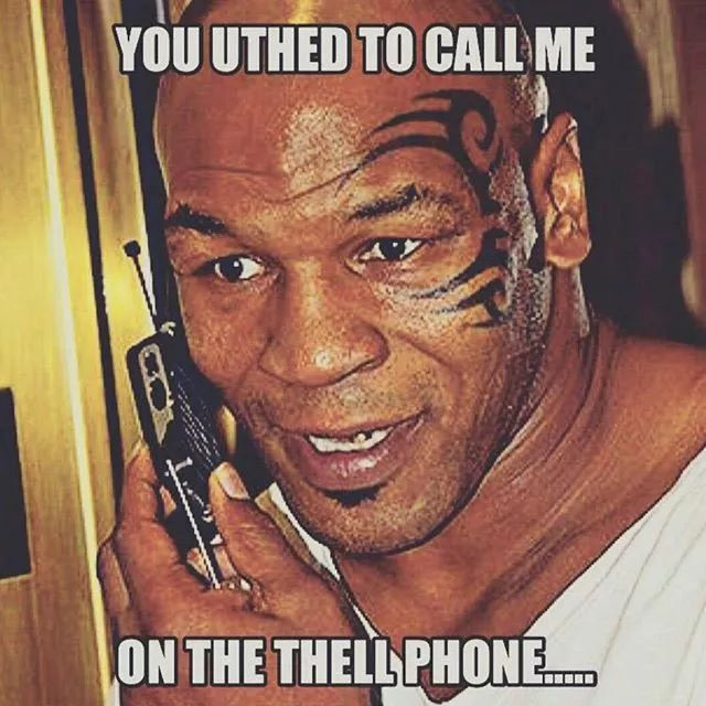 Mike Tyson Birthday Meme