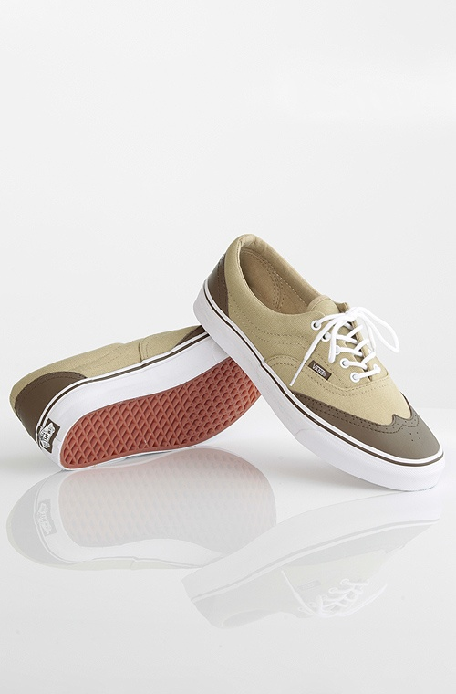 Vans Era Wingtip kengät Brown/Khaki 79,90 € www.dropinmarket.com