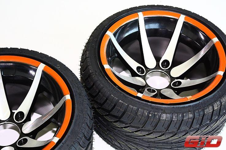 GIO LAMBO ATV Low Profile Wheels and Tires 235/30-12   GIO