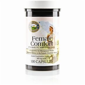 Female Comfort (100 caps) 1.Supports the female reproductive system. 2. Aids in glandular system functions. 3. Provides nutritional support for #menopausal women http://www.harmony4health.com http://www.naturessunshine.com/us/product/female-comfort-100-caps/882/