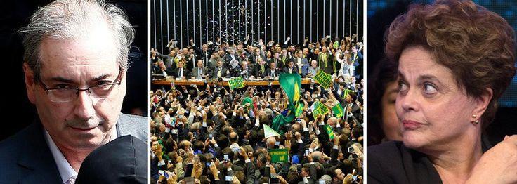 Bomba: Cunha conta quem recebeu para votar pelo golpe | Brasil 24/7