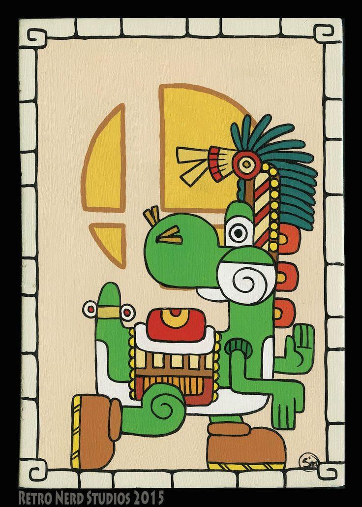 Mayan artwork of our gaming gods! (27 HQ Photos