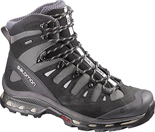 Salomon Mens Quest 4D 2 GTX Hiking Boots Detroit  Black  Navajo 13  Collapsing Waterbottle Bundle ** Click image to review more details. This is an Amazon Affiliate links.