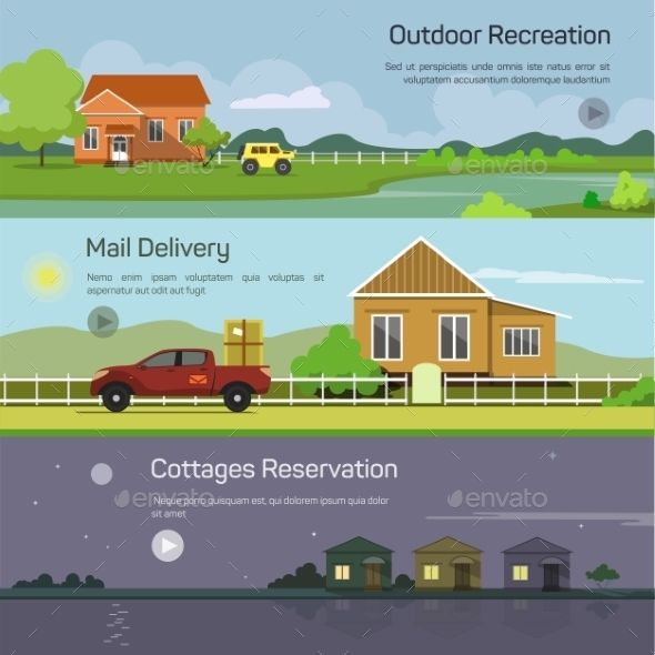Outdoor Recreation, Mail Delivery, Cottages