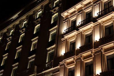 windows at night [Barcelona]