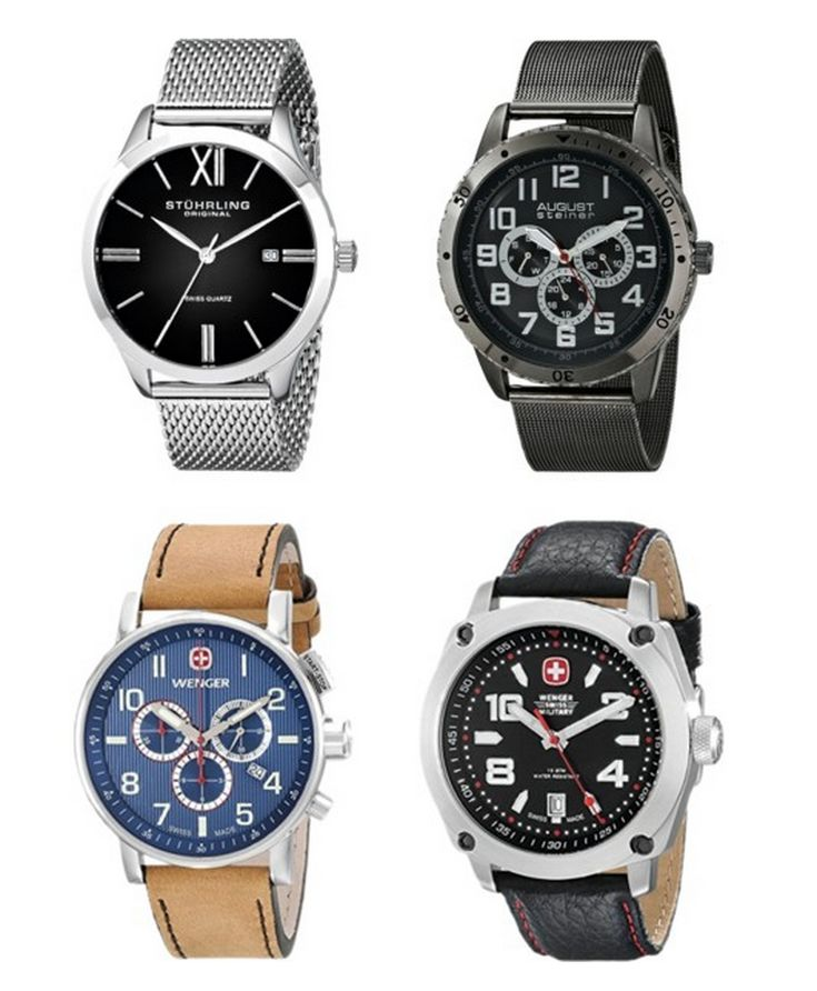 TODAY ONLY! 45% Or More Off Men's Wenger Watches!