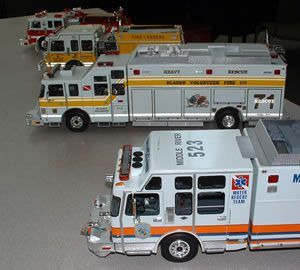 baltimore rescue | Completely scratch-built (except for wheels and tires)