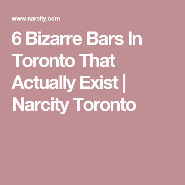 6 Bizarre Bars In Toronto That Actually Exist | Narcity Toronto