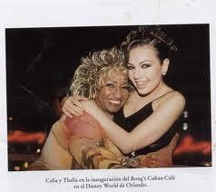 Thalia & Celia Cruz