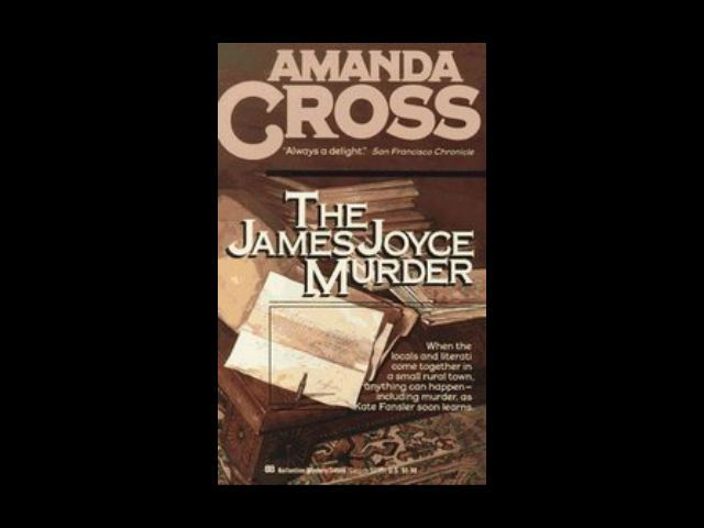 The James Joyce Murder   Mystery Book Review