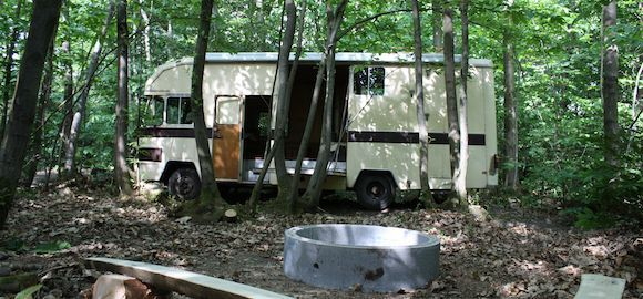 The Horsebox, Wilderness Wood, Sussex