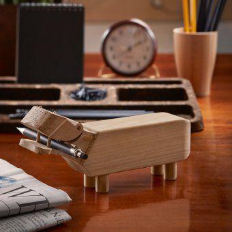 #design3000 Das niedliche Flusspferd wird auf dem Schreibtisch zum Hingucker! #kaybojesen